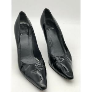STUART WEITZMAN Women's Black Patent Leather Pumps